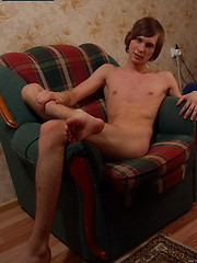 Yummy nude boy Karl makes you wanna kneel down in front of him and suck him