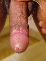Hot sexy latino twink has massive erected cock