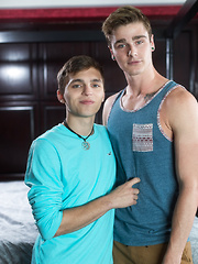 Travis Stevens and Tristan Adler